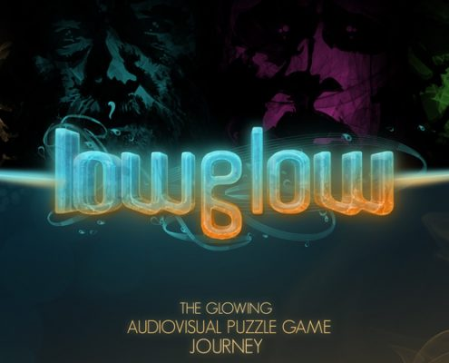 The glowing audiovisual puzzle game journey